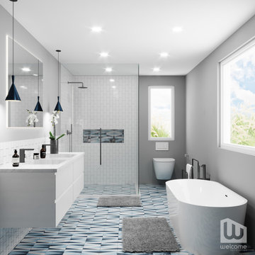2021 Palm Springs Bath Collection