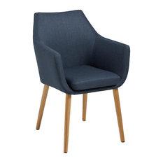 Nori Fabric Carver Chair