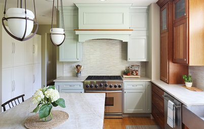 Before and After: New Paint, Counter and Tile Refresh a Kitchen