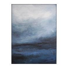Original Abstract Canvas Modern Acrylic Painting - 30x40 - Gina Perillo