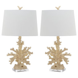 Beach Style Lamp Sets by Safavieh