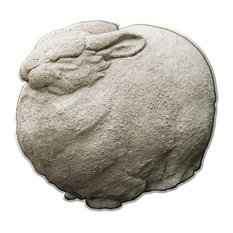 Fat Rabbit Cast Stone Garden Statue
