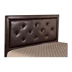 Becker Headboard King Headboard Frame Not Included Brown Faux Leather