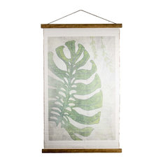 Vintage Wall Hanging Leaf Scroll Tapestry