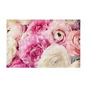 """Shades of Pink Area Rug, 72.5""""x52.5"""""""