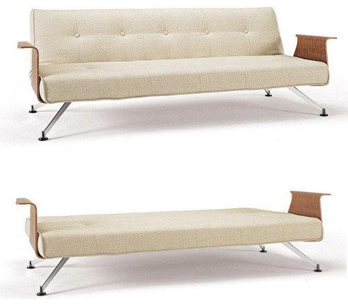 Click clack danish sofa beds for Scandinavian sofa bed