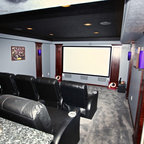 Forest Lake Basement Finishing Project - Traditional - Basement - Minneapolis - by Creative ...