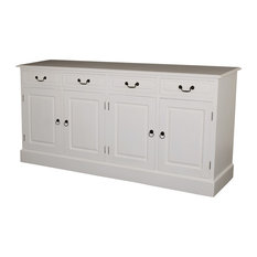 Louisiana Mahogany Sideboard, 4 Drawers