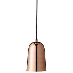 Pendant Lamp With Shiny Copper Plating