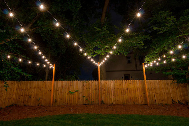 How to hang string lights outdoors - How to hang up string lights ...