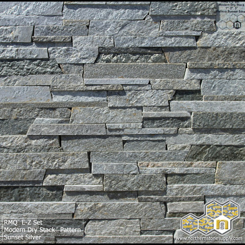 Modern Stone Veneer : E z set™ natural stone veneer stacked products