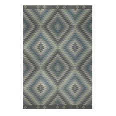 Kilim Blue Rug, 90x135 cm