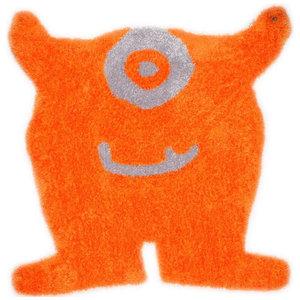 Tom Tailor Kids Rug, Monster, Orange, 100x120 cm
