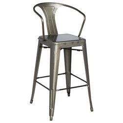 Industrial Outdoor Bar Stools And Counter Stools by Chintaly Imports