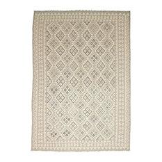 "Kelim Afghan Rug Oriental Rug 9'10""x6'10"" Hand-Woven Classic"