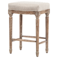 Vintage French Restoration Counter Stool