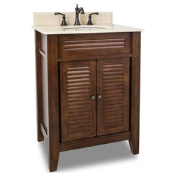 Ideal Tropical Bathroom Vanities And Sink Consoles by Renaissance Kitchen and Home