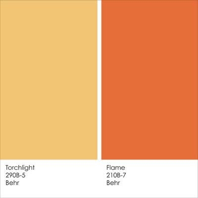 Pale Orange Kitchen paint color ideas: 7 bright ways with yellow and orange