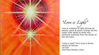 """""""Love is"""" Art Series"""
