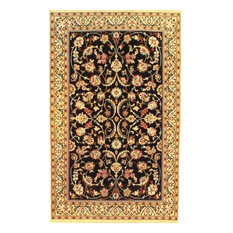 """Consigned Pasargad DC Persian Nain Hand-Knotted Silk & Wool Pile Rug - 4'2""""X6'9"""""""
