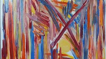 Insperation till akrylmålningar