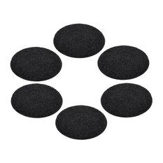 "KIDS crAzy cArpET Circle Seats 18"" Floor Mat-Cushion Soft Warm, 12 Fun Colors, T"