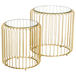Contemporary Side Tables & End Tables by BB Designs