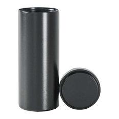 "Titanium Alloy Container Coffee Tea Canister 1.8""x4.6"", 05"