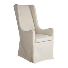 Sienna Skirted Wing Chair