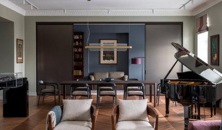 Houzz тур: Квартира в доходном доме на Солянке
