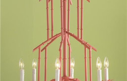 Bamboo Tower Chandelier