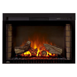 Led Electric Firebox Fireplace Insert Transitional Indoor