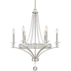 Fresh Transitional Chandeliers by Quoizel