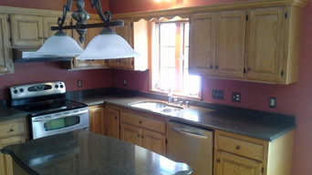 Changing Golden Oak Cabinets to White