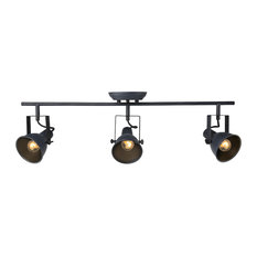 industrial track lighting. lnc home spotted 3light ceiling fixture track lighting kits industrial i