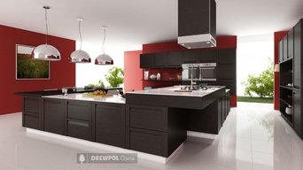 Modern kitchen - solid wood furniture doors