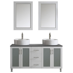 Fancy Contemporary Bathroom Vanities And Sink Consoles by Vinnova