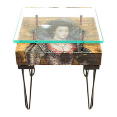 Queen of Bohemia Side Table, Right Facing