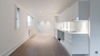 Transformation de bureau en habitation