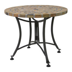Outdoor Interiors - Havasu Outdoor Accent Table - Outdoor Pub and Bistro Tables