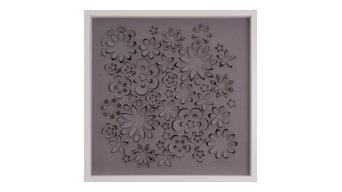"""Flower Power"" Laser Cut Artwork, Large"