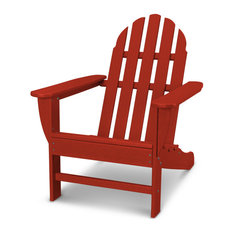 Polywood Classic Adirondack Chair, Crimson Red