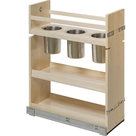 """Base Cabinet Pullout. 5"""" x 21"""" x 24"""" Featuring Soft-Close Dura-Close Slides - Contemporary ..."""