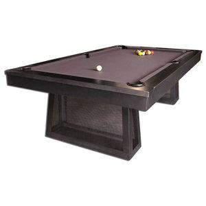 8u0027 Ixabel Billiards Pool Table Industrial Steel Game Table By Plank And Hide