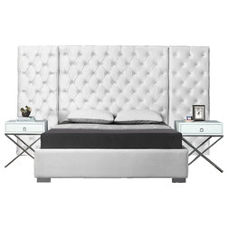 Transitional Platform Beds by Meridian Furniture