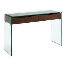 Casabianca Home Ibiza Glass Console Table