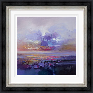 """Colour Collision Study"" Framed Print by Scott Naismith, 71x71 cm"