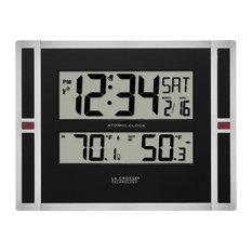 Contemporary Wall Clocks Houzz