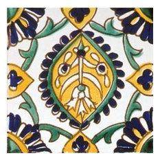 "Mediterranean Monte Carlo Ceramic Tile, 6""x6"""
