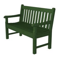 "Rockford 48"" Bench, Green"